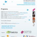 El VII Horchata and Twitts convoca a la comunidad tuitera en la Universitat de València