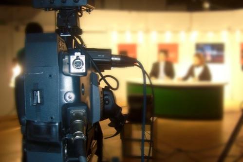 Presentadoras en televisión