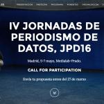 IV Jornadas de Periodismo de Datos: investigación abierta