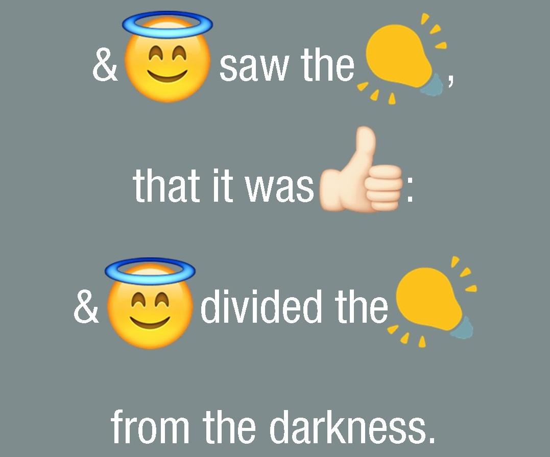 La Biblia emoji