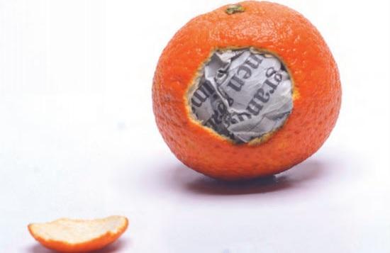 Periodismo de mandarina de Javier Fariñas