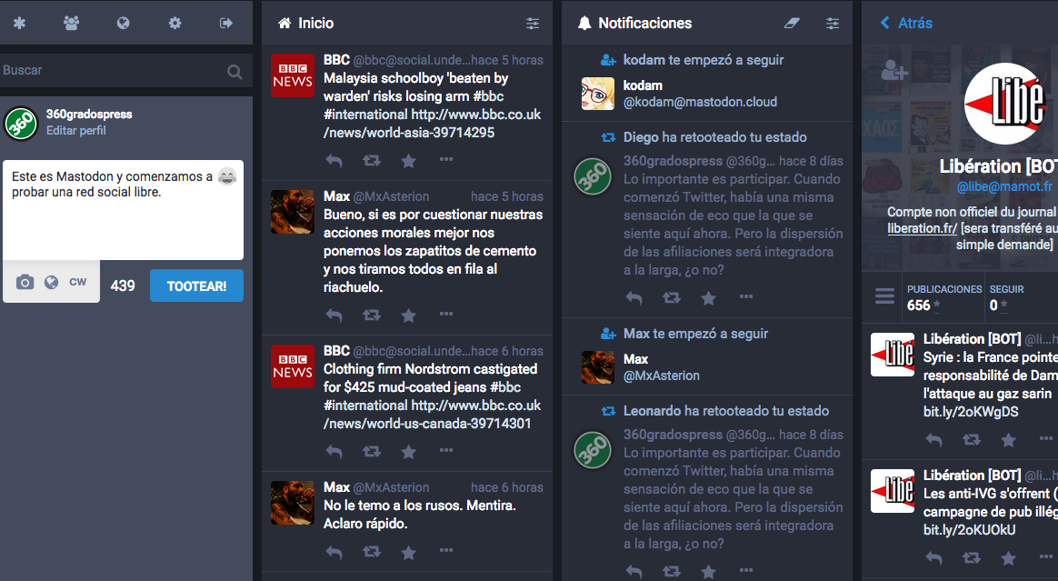 Mastodon nueva red social