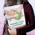 Grandes chefs y el brócoli, premio Gourmand World Cookbook Awards