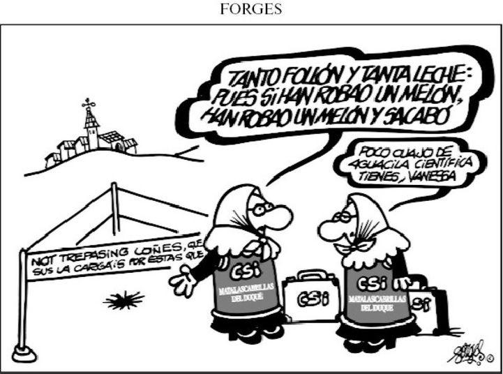 El legado de Forges