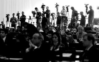 La trinchera periodística