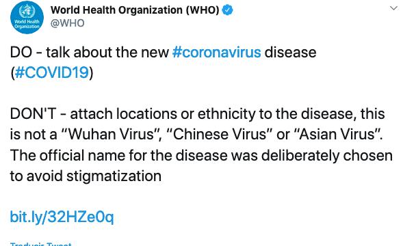 Entidades médicas y el coronavirus.